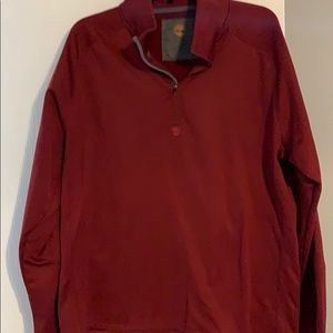 Timberland 3/4 zip men's xl